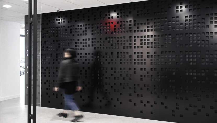 Razortooth Design Llc Architectural Screens Lobby