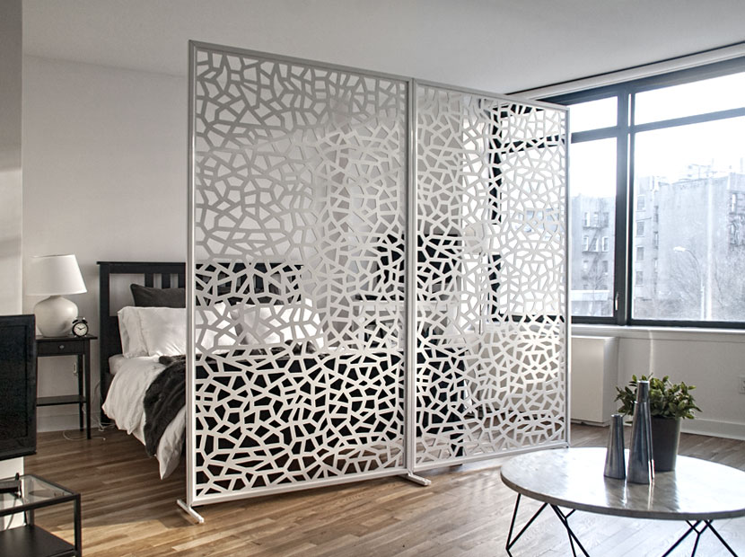 Decorative Screen Room Divider Freestanding Modern Single Layer Panel With Frame Support Is Light Weight And Inexpensive Solution To Divide E