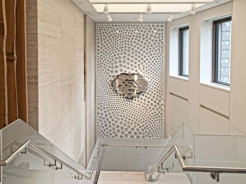 Razortooth Design LLC. | Architectural Screens, Lobby