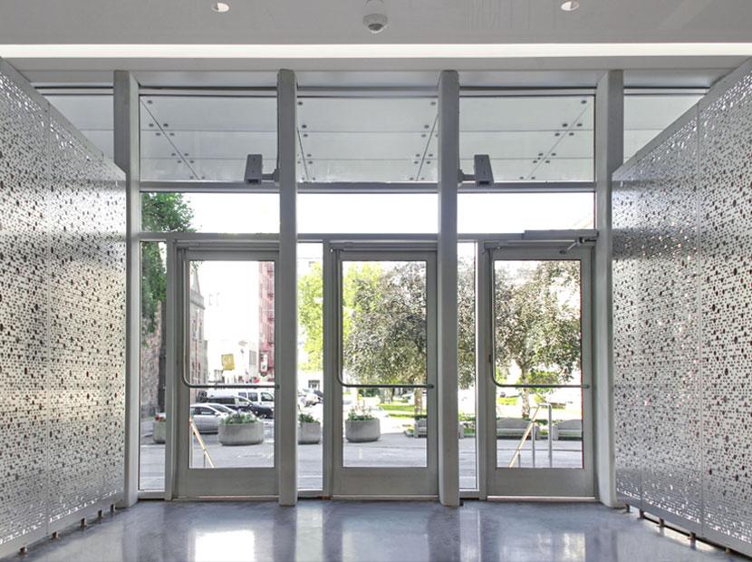 Architectural Screen Walls : Razortooth design llc architectural screens lobby